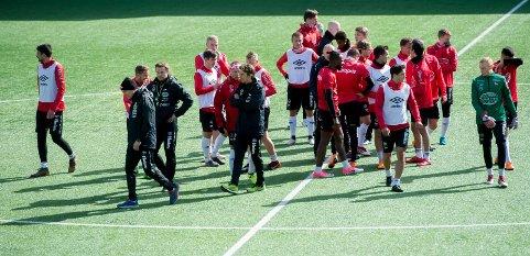 BLIR LOGGET: Nå blir alle spillerne i FFK logget i både kamp og trening.