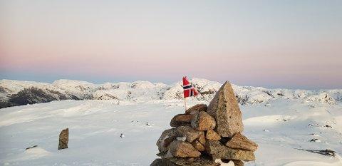 Miljødirektoratet har sett seg ut et 282 kvadratkilometer stort område i grensetraktene mellom Gjesdal, Sirdal og Bjerkreim som mulig nasjonalpark. Dette bildet er tatt på Trollakyrkja i Maudalsheia.