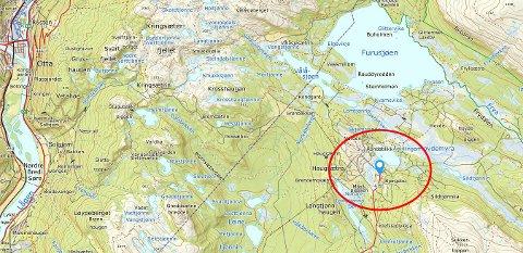Bjørgebu camping ligger i området ved Furusjøen og Rondablikk.