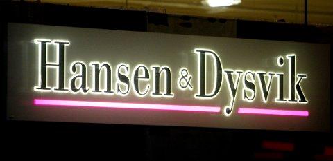 KONKURS: Tekstil-kjeden Hansen & Dysvik hadde tidligere butikker i både Lillehammer Lom, men ikke lenger i GDs distrikt ved konkursen.