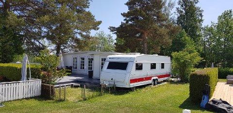HYTTEALTERNATIV: Precampen har et spennende design med høy kvalitet, mener Berit Karin Seljeseth Osa, president i Norsk Bobil og Caravan Club (NBCC).