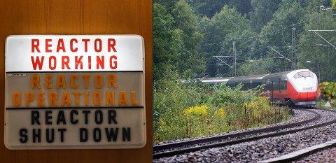 MER PENGER: Jernbane og dekommisjonering er to av satsingsområdene for Haldens del i statsbudsjettet 2020.