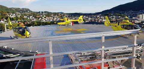 Helikopterplattform Haukeland Sykehus