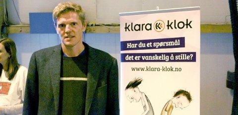 Utfordring: Mobbeombud Håvard W. Johansen mener nettmobbing er en stor utfordring. Foto: Benedicte Wærstad