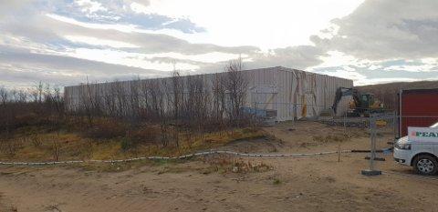 NYTT BYGG: I mars 2019 kan lensmannskontoret i Tana flytte inn i splitter nytt bygg.