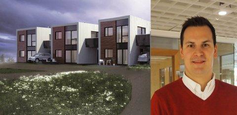 OVERRASKET: – Det er en utrolig merkelig situasjon sier Jonas Haugen om politikernes avgjørelse om dette boligprosjektet.