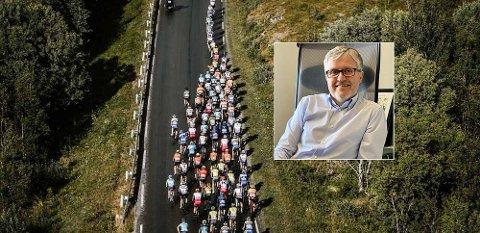 HAR HØSTET ERFARINGER: Næringssjef i Harstad kommune, Bjørn Akselsen, forteller at de har en plan for Arctic Race of Norway, men er forberedt på at den kan endres.