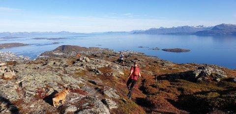 SOLDAG: Harstad viste seg fra sin beste side under Harstad Summits Trail Marathon.  Nå fortsetter godværet.