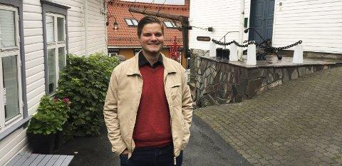 Førstekandidat: Tobias Lund fra Kragerø er Rødts førstekandidat i Telemark, og øyner håp om å sikre seg en plass på Stortinget.
