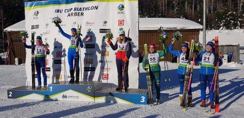 Ragnhild tok ein knallsterk tredjeplass i sprint laurdag.