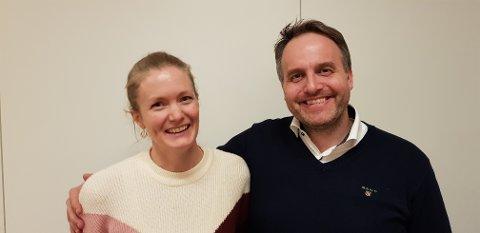 NYVALGT: Anne-Lin Hynnekleiv fra Sæter og Thomas Kobberdal fra Jomfrubråten er toppkandidater for Nordstrand KrF til bydelsutvalget. Foto: Nordstrand KrF