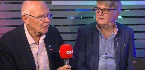 SPESIELL KVELD: Bjørn Iddberg, avtroppende ordfører, synes det er vemodig at 100 års styre trolig er over - og at han ble den siste i rekken.