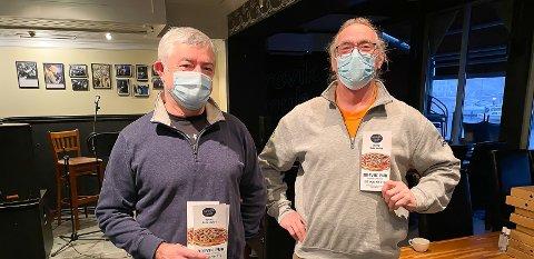 STENGER: Driverne av Brevik Pub, Henning Kjørsvik og Bård Kristiansen, stenger dørene igjen på grunn av dårlig omsetning.