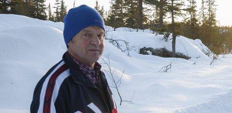 GODT GRUNNLAG:: Ole Ringerud kan lokke med flotte forhold på Vikerfjell etter snøfallet denne uka.