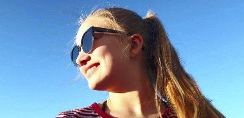 Det er viktig å forebygge øyeskader ved å beskytte øynene mot den skarpe vårsola. Foto: Siv Henningstad