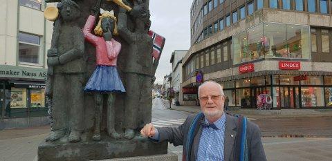 UNGES TALSPERSON: Ivar Ramberg vil ha fortgang i behandlingen av Hjertesone i Sandefjord kommune.
