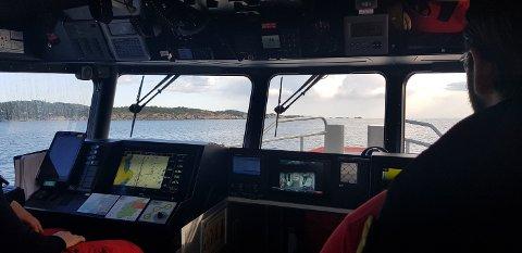 GODT UTSYRT: Røde Kors-båten RC «Jotun» har spesialutstyr for leting under vann.