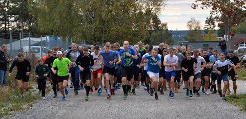 67: Hele 67 løpere gjennomførte Torsdagsløpet denne uka.
