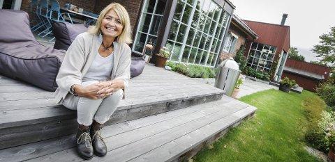 VANT I FJOR: Tove Nilsen mottok Byggeskikkprisen i fjor for Lagmannsveien 9.