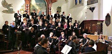 «Jubel og glede» synger Kristiansund kammerkor i Juleoratoriet. Lørdag framføres det i Melhus, søndag i Nordlandet kirke.