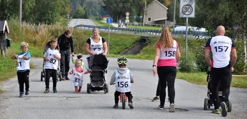 Mosjonsløpet Lina Roindt i Rindal ble søndag arrangert for 35. gang.