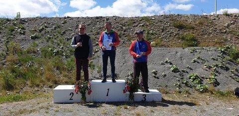 Morten Bergheim fra Kristiansund pistolklubb på tredjeplass.