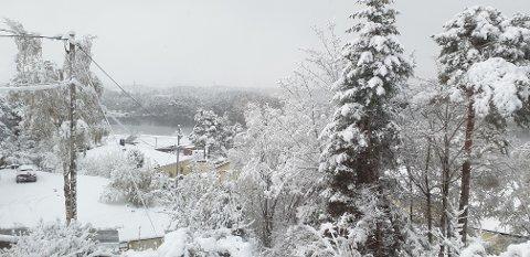 Full vinter på Rensvik.