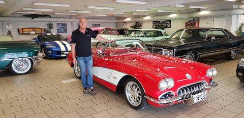 LENGE I BRANSJEN: I 30 år har Trond Oskar Edh holdt bilfirmaet gående.