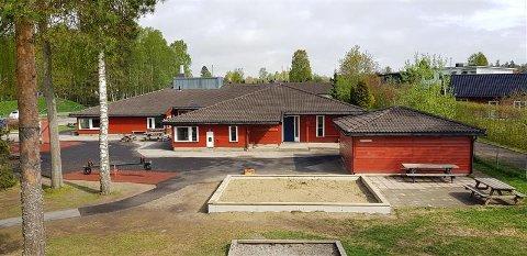 I KARANTENE: En avdeling i Fyllpå barnehage er satt i smittekarantene.