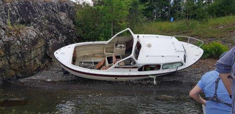 - Vi trodde vi skulle samle inn joller og kajakker, men det viste seg at flertallet var store båter av plast, sier Ketil Svelland på Kambo Marina.