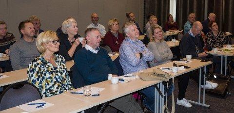 FORNØYDE: Reiselivs- og turistnæringen i Horten likte det de fikk høre om samarbeidsprosjekt og videre vekst.