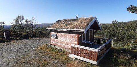 TIL SALGS: Denne hytta har eieren valgt å legge ut for salg.  Foto: Privat
