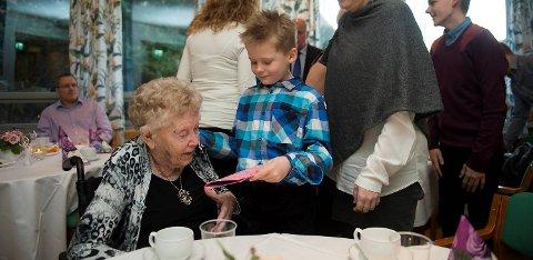 Astri Austrheim fylte 105 år i dag.