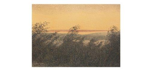 SELGES: Bildet «Kvæld» av Theodor Kittelsen selges på Blomqvist.