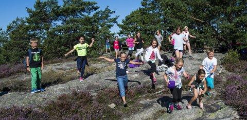 SKAL FÅ BEFOLKNINGEN AKTIV: Aktivitetsrådet som startet opp i høst, skal få flere aktive gjennom uorganisert idrett i Fredrikstad.            Foto: Erik Hagen