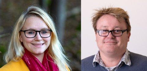 Silje Louise Waters (SV) og Jorulf Laabak (H) har gått sammen om en interpellasjon, etter å ha lest om Isabella Davids skolehverdag i Fredriksstad Blad.