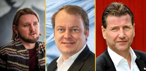 Stortingspolitikerne Freddy Øvstegård (SV), Erlend Wiborg (Frp) og Stein Erik Lauvås (Ap) er alle enige om at Viken bør deles opp i biter etter Stortingsvalget.