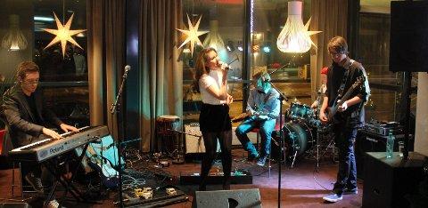ANBEFALING: Fra Narvik jazzklubb kommer det til slutt noen abefalinger, blant annet elevene fra Solhaugen. Her SunHill Sessions fra 2013. Arkivfoto: Odd-Georg H. Benjaminsen.
