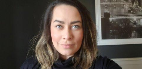 OPTIMIST: Christina Svendsberget har bestemt seg for å se på permitteringsperioden som en mulighet til å være mer sammen med barna.