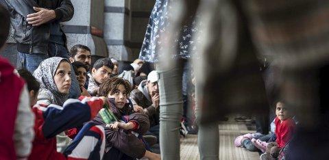 BØR HJELPE FLERE: Den humanitære krisen i Syria og situasjonen til båtflyktningene i Middelhavet gir også ny næring til den lokale flyktningdebatten. Halden vedtok i høst å bosette 12 flyktninger, mens staten ba om 64.