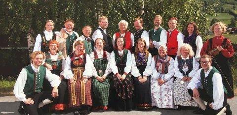 ARRANGØRER: Numedal spel- og dansarlag tar imot folkemusikere fra hele fylket lørdag 7. april.