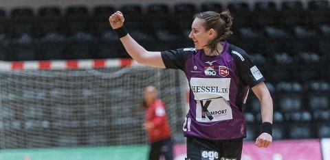SUKSESS: Ingvild K. Bakkerud gjør suksess i danske Herning-Ikast. Nå håper hun å være tilbake på landslaget.