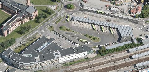 PÅ HØRING: Planforslaget til helsebygg- og bussterminaltomtene i Lillestrøm er lagt ut på høring.