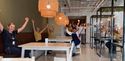 I et digitalt møte fikk Ikea-ansatte på Leangen beskjed om årets bonus.