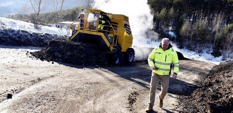 Tiltak: Driftsingeniør Bjørn Aabakken i Sel kommune opplyser at kommunen ser på muligheten for å bygge et nytt, lukket slambehandlingsanlegg.