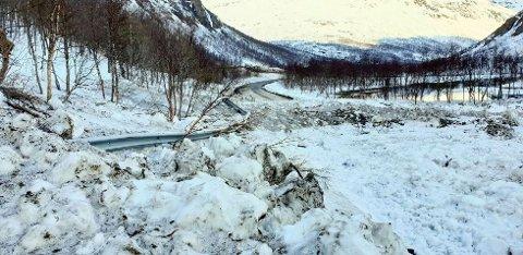 STENGT: Det er usikkert når oppryddingen av snøen begynner.