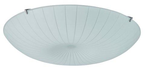 TILBAKEKALLER LAMPE: IKEA tilbakekaller et parti med CALYPSO plafond på grunn av risiko for at skjermen kan falle ned. Foto: IKEA / NTB scanpix