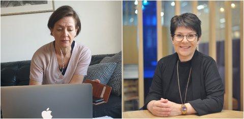 MØTER LESERNE: Kommuneoverlege Siri Fuglem Berg og skolesjef Hilde Dahl Lønstad møter OAs lesere i et nettmøte fredag. Der kan leserne få svar på sine spørsmål om blant annet den kommende skoleåpningen for 1. til 4. trinn.