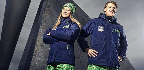 Fine klær: Slik skal de frivillige under Ungdoms-OL på Lillehammer i februar kle seg. Foto: Lillehammer 2016/Cathrine Dokken