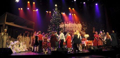 Julestemning: Det mangler ikke noe på julestemningen i «Et juleønske» i år heller.